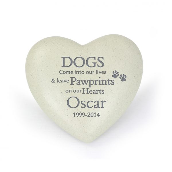Personalised Dog Memorial
