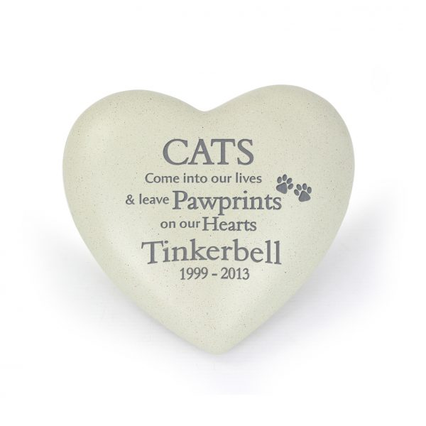 Personalised Cat Memorial