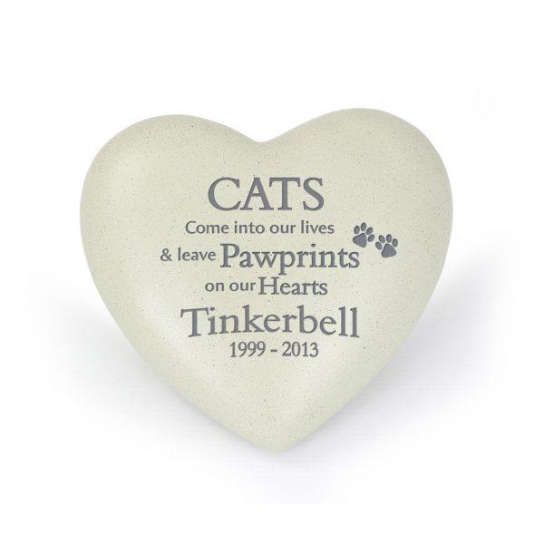 Personalised Cat Memorial