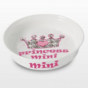 Princess Personalised Pet Bowl
