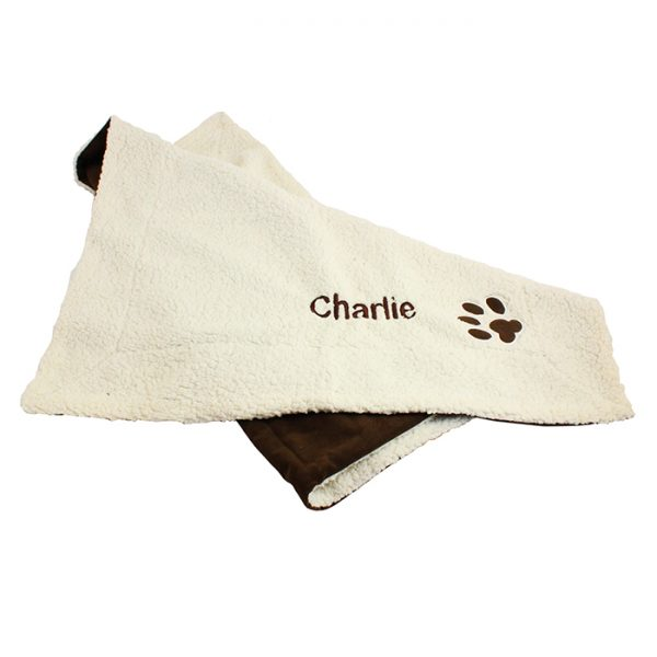 Personalised Luxury Pet Blanket