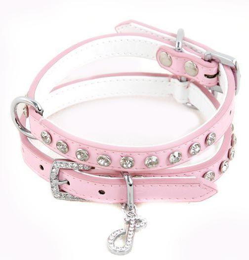 Candy Floss Dog Collar