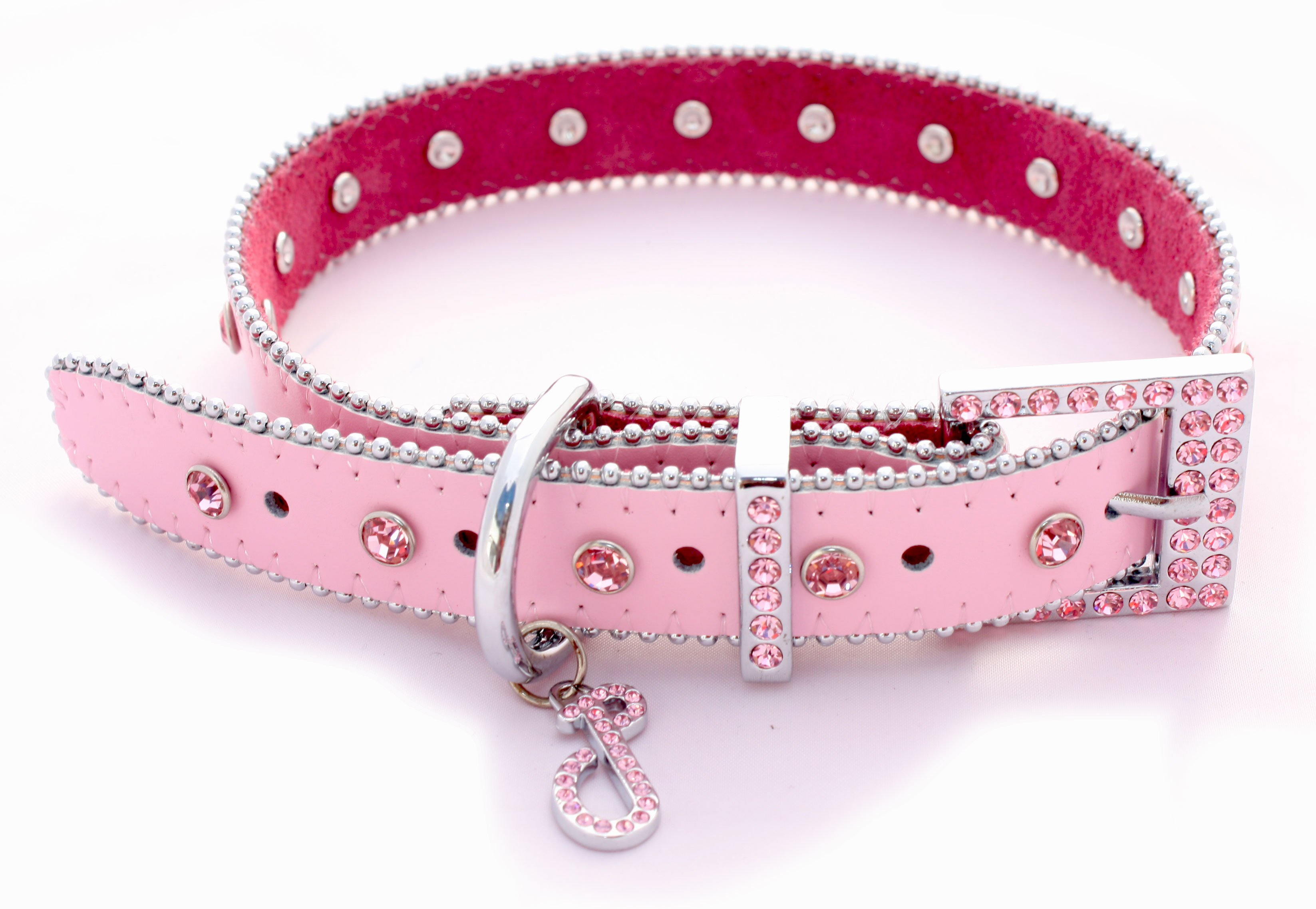 Monte Carlo collar in Powder Pink