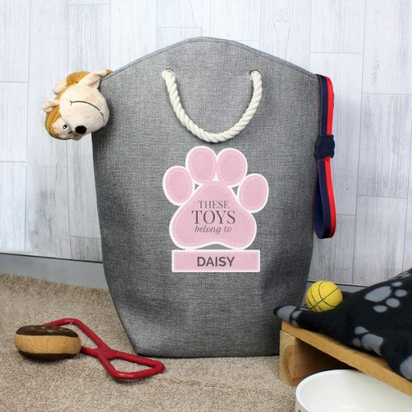 Personalised Pet Toy Storage Bag