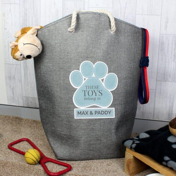 Personalised Pet Toy Storage Bag