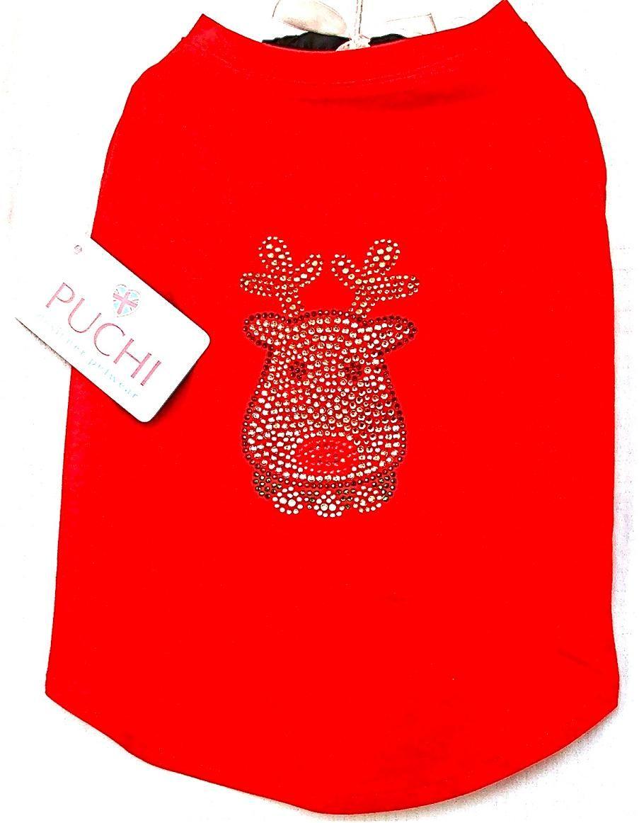 Rhinestone Ruddolf t-shirt