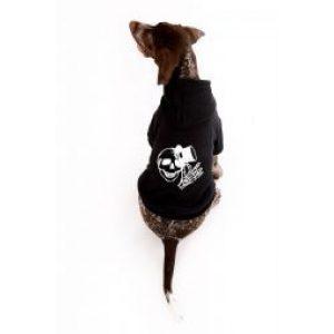 Skull Dog Hoodie