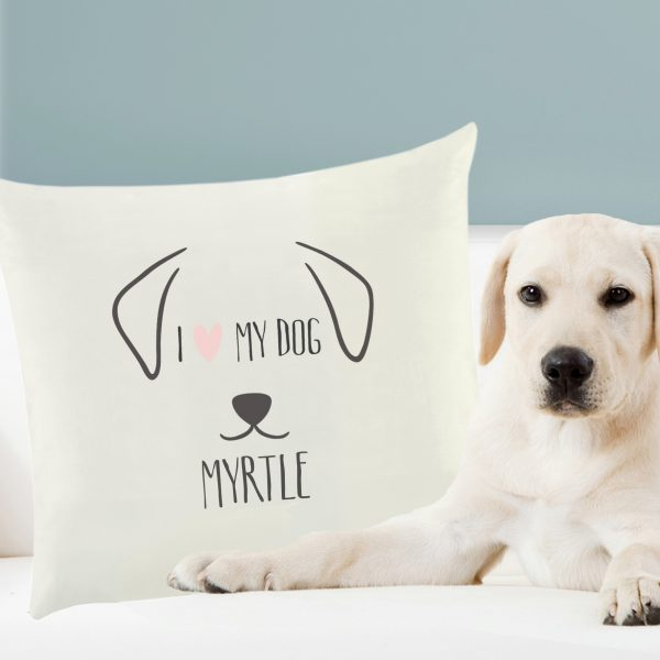 Dog Features Personalised Cushion Cover