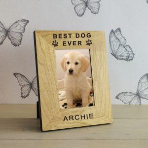 Personalised Dog Photo Frame