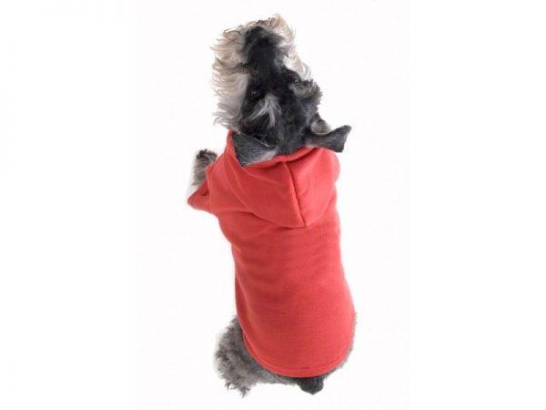 Dog Hoodie Red