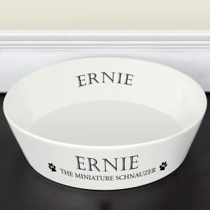 Personalised Paws Large Dog Bowl