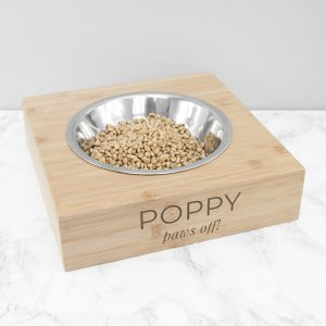Personalised Name and Message Pet Bowl